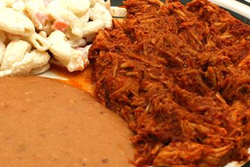 comidas Cochinita pibil