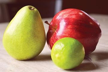 productos Fruta Fresca, Manzana, Pera y Limón