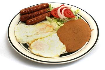 Desayunos Huevos estrellados