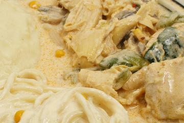 comidas Pollo en crema