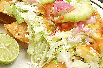 comidas Tacos dorados